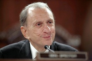 Sen. Arlen Specter (D-PA) (Image from the AP.)