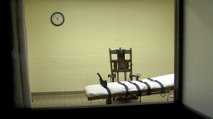 Ohio's execution chamber, located at the Southern Ohio Correctional Facility. (Image from Getty Images.)